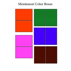 Montessori Color Box Cards