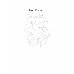 Lion Coloring Sheet / Tracer